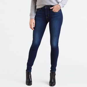 Levi's 721 High-Waisted Jeans, Dark Wash